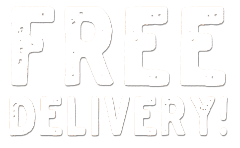 Free Delivery! Even on Mondays!